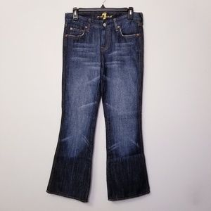 7 for all mankind Size 28 Blue Bootcut Jeans